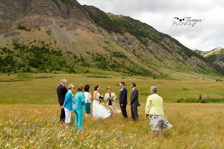 Waterton wedding photos
