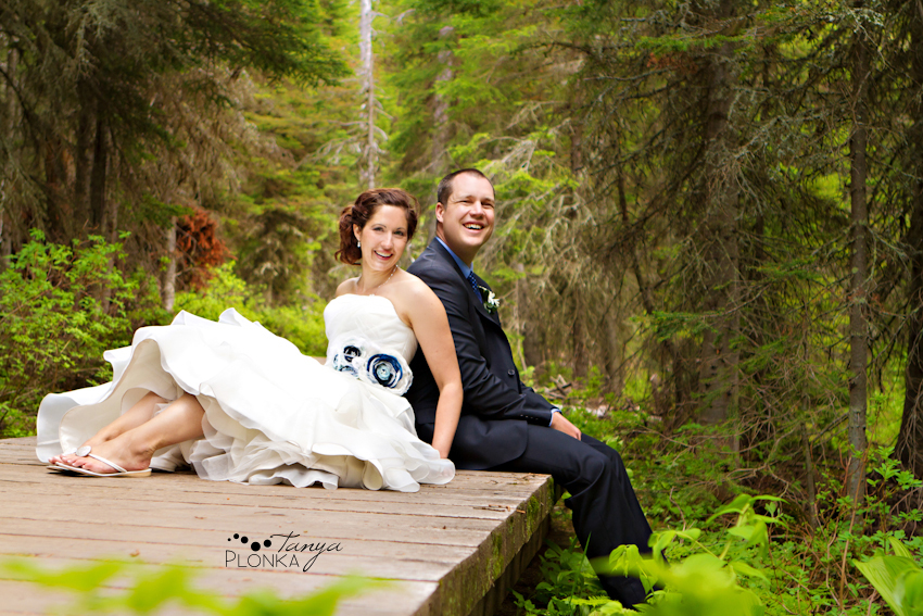 Fun Waterton Wedding