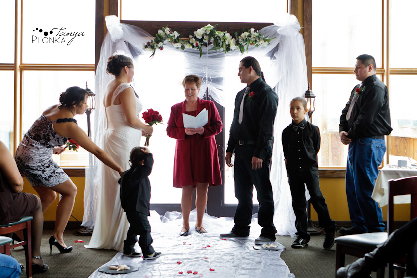 Little boy tries to interrupt ceremony