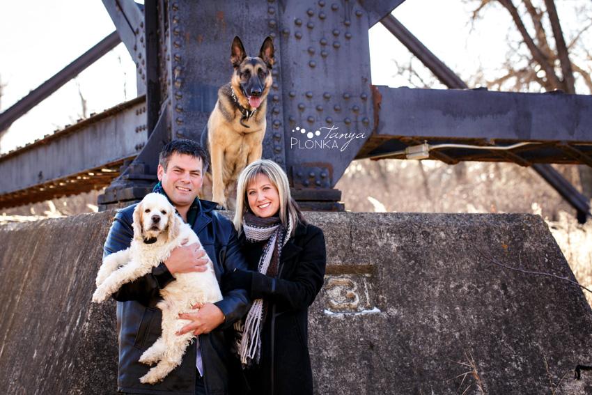 Adam Trish Amp The Dogs Lethbridge Family Photos Blog