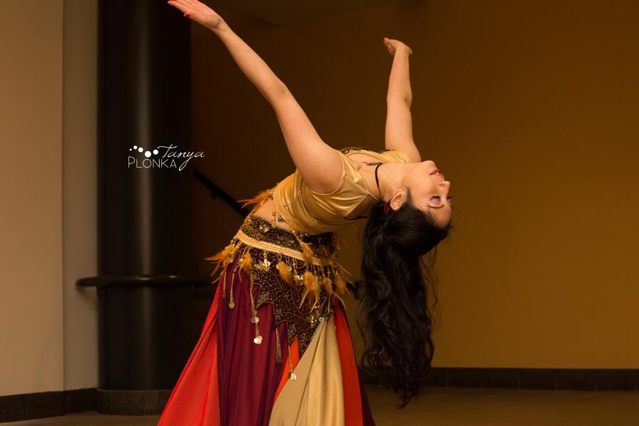 Lana Gabor art opening and dance performance, Lethbridge, Alberta