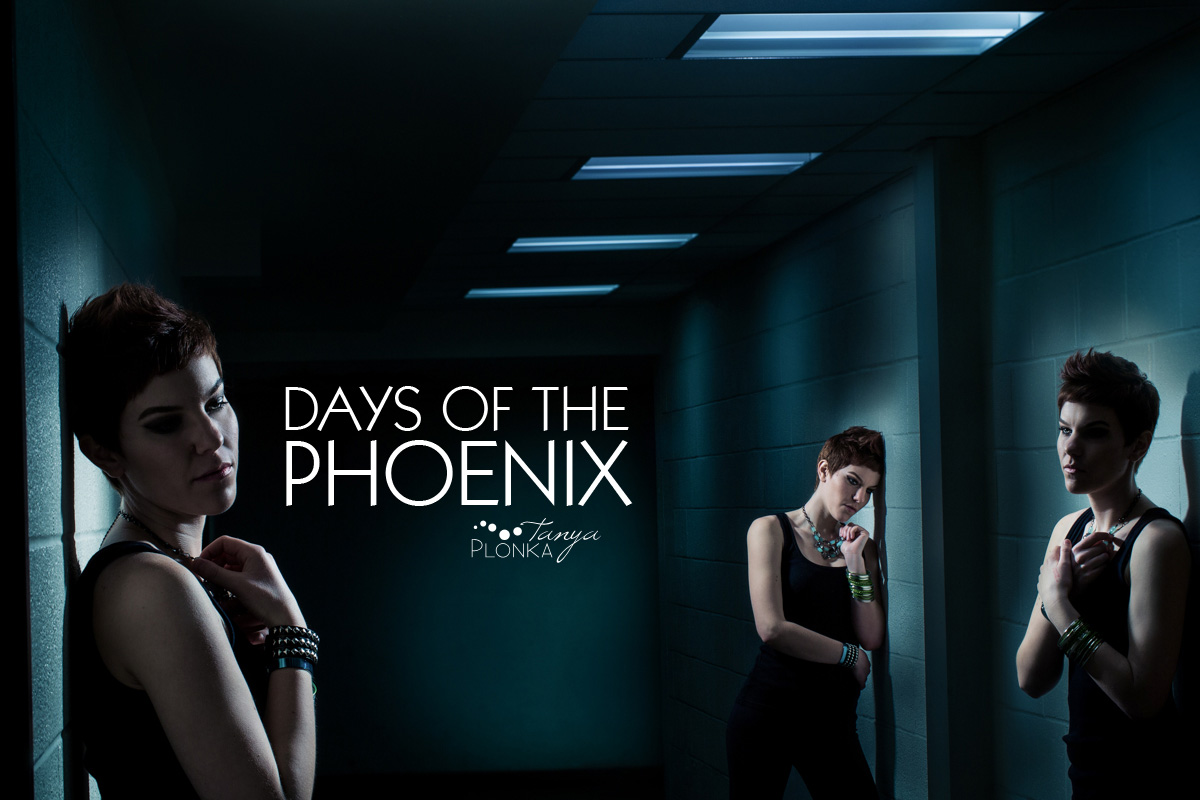 AFI photo project, The Days of the Phoenix, Lethbridge creative lighting portraits