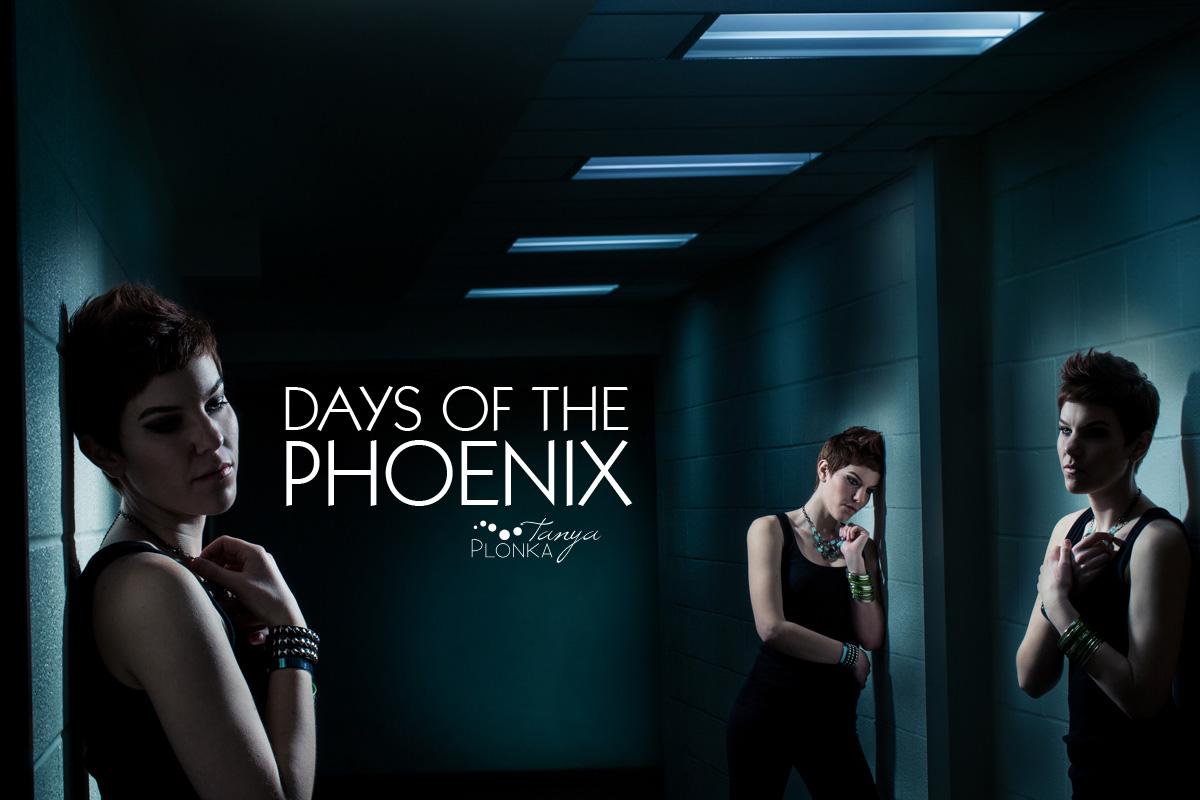 AFI photo project, The Days of the Phoenix, Lethbridge creative lighting portraits