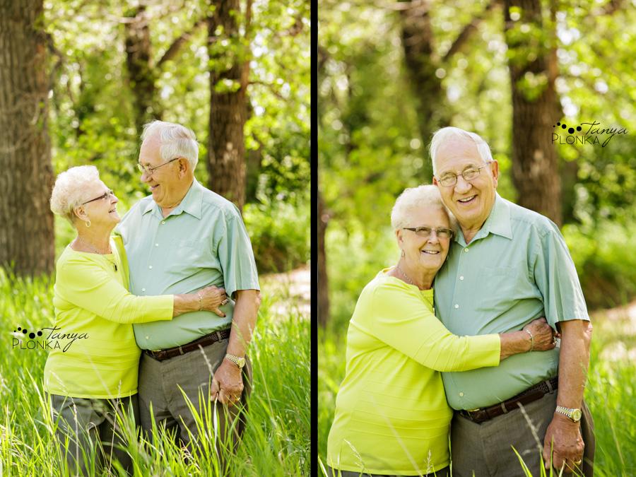 Lethbridge 60th anniversary family portraits