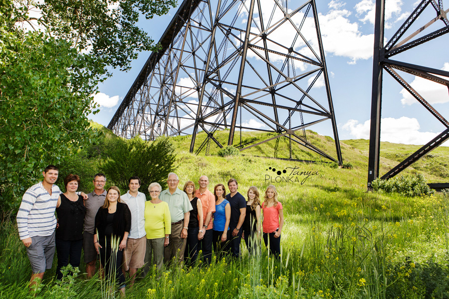 Lethbridge 60th anniversary family portraits