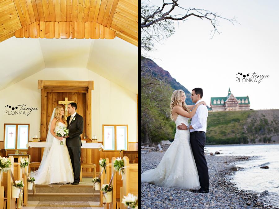 Renzo and Erin, Waterton Destination Wedding