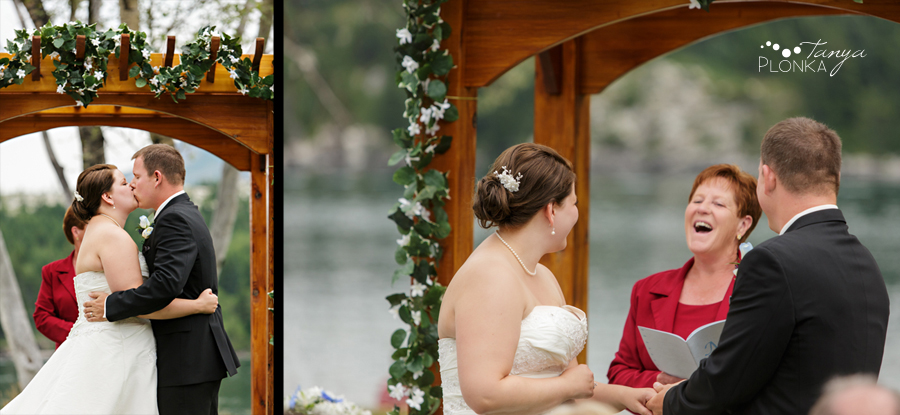 Ashley and Mike, Waterton Mountain Getaway Wedding