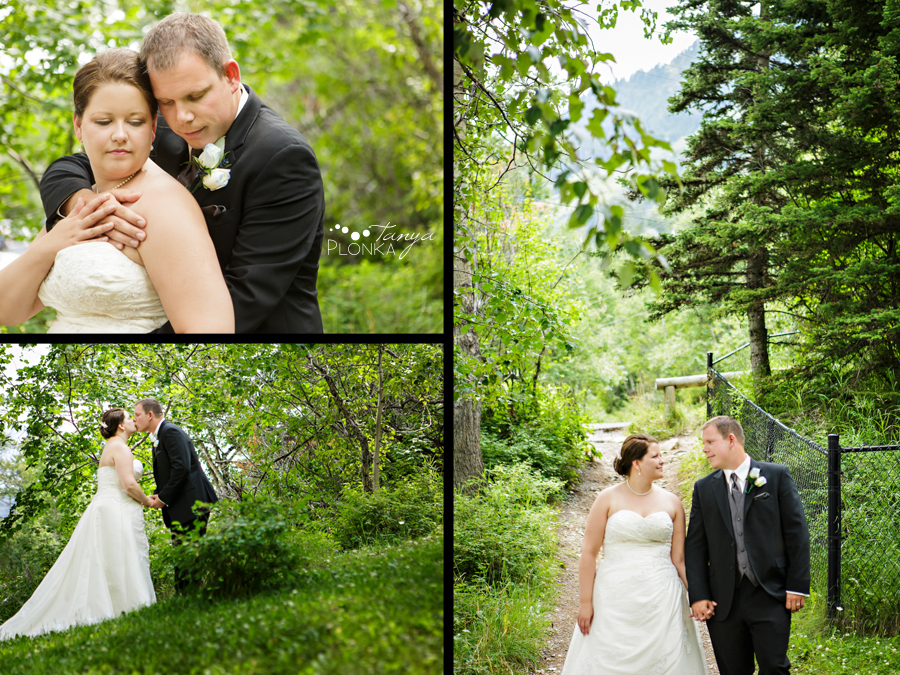 Ashley and Mike, Waterton wedding photos