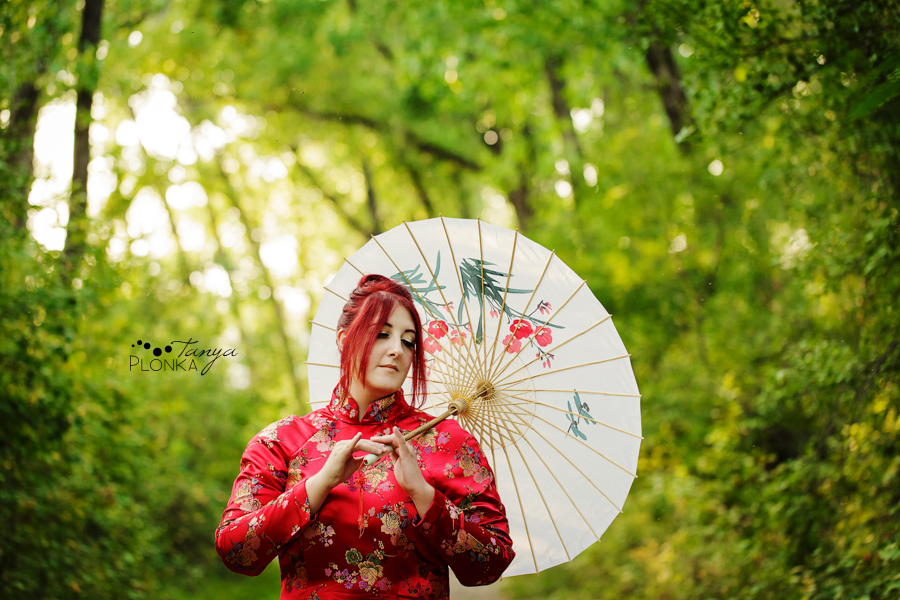 Lethbridge portrait photos of girl in cosplay, Japanese fans