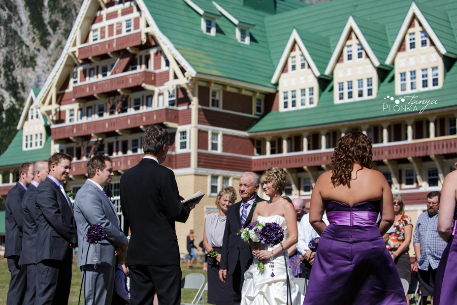 Alison and Sean, Waterton wedding photos