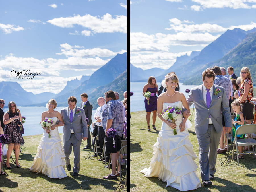 Alison and Sean, Scenic Waterton Wedding