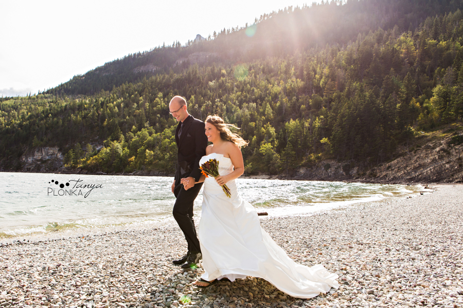 Michael and Chantelle, Casual Waterton Wedding