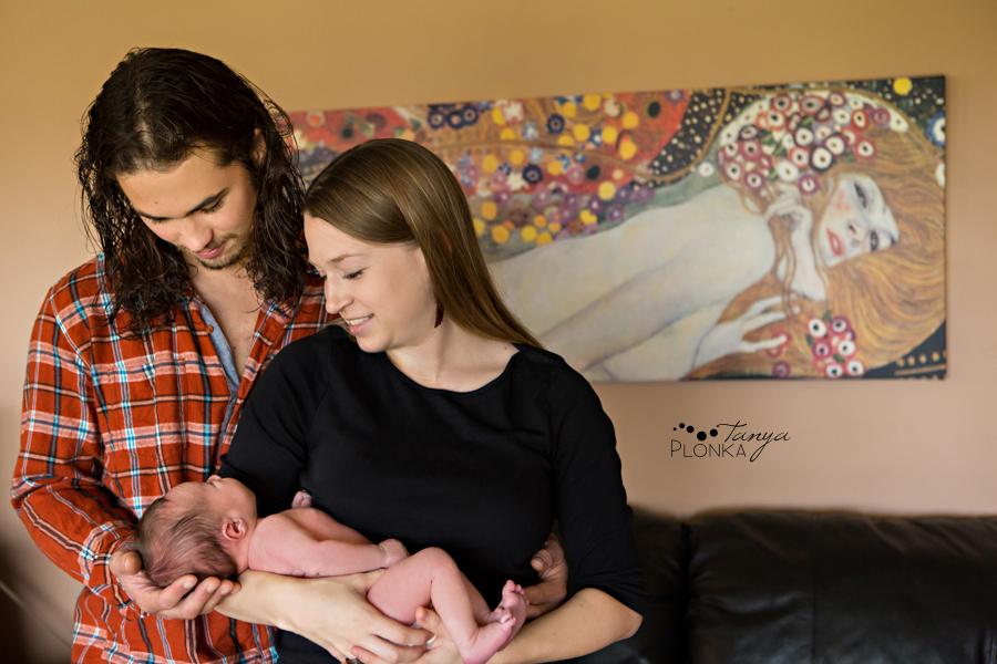 Pincher Creek newborn photos baby boy