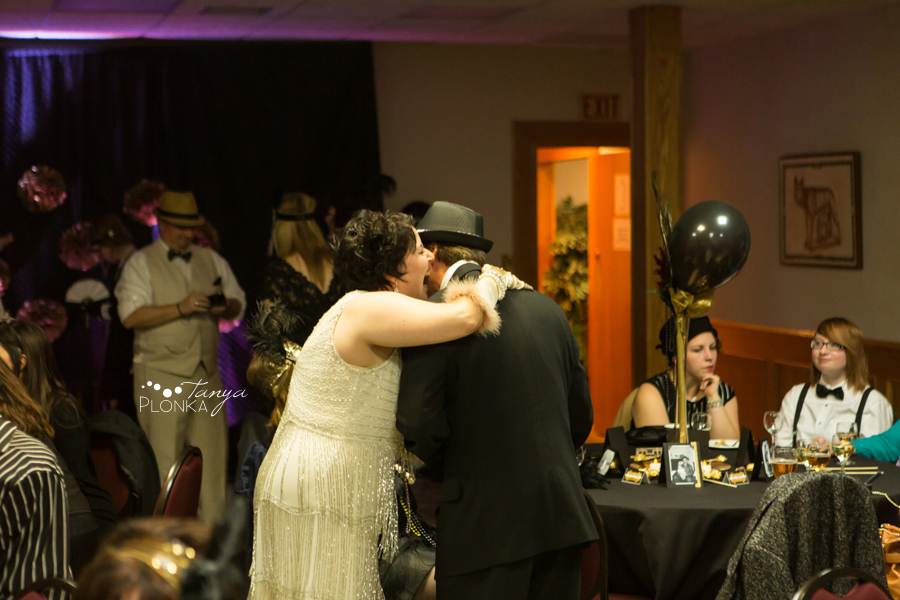 Great Gatsby themed birthday party in Lethbridge