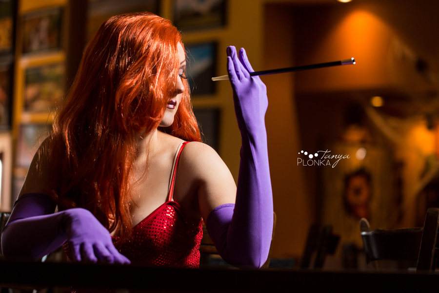 Lethbridge Jessica Rabbit cosplay photos