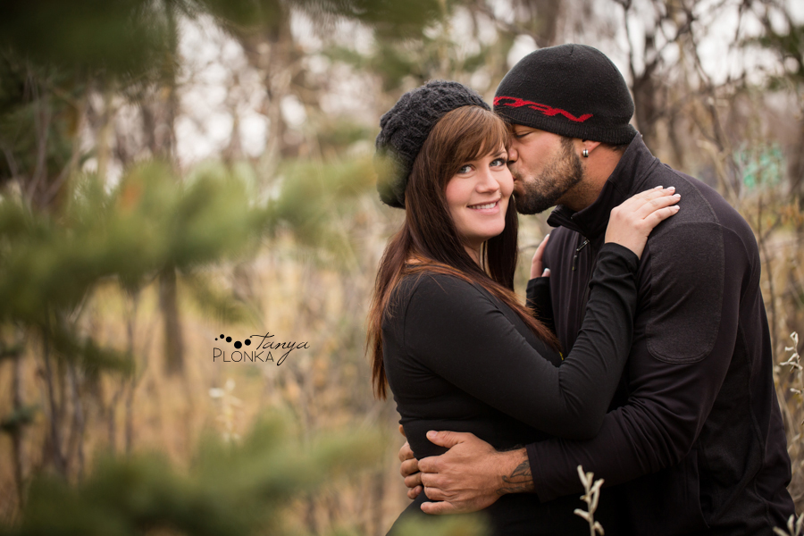 Lethbridge winter maternity photography