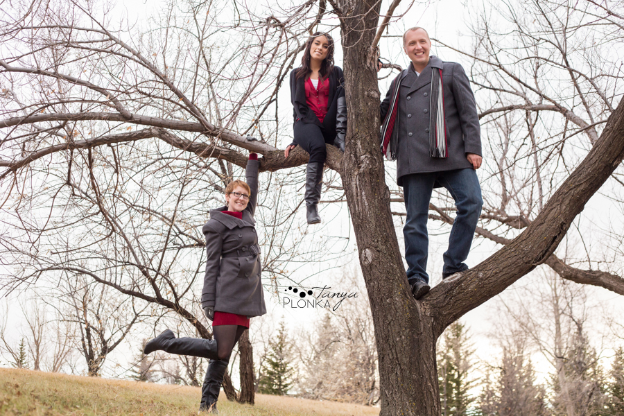 Lethbridge Winter Adult Family Photos