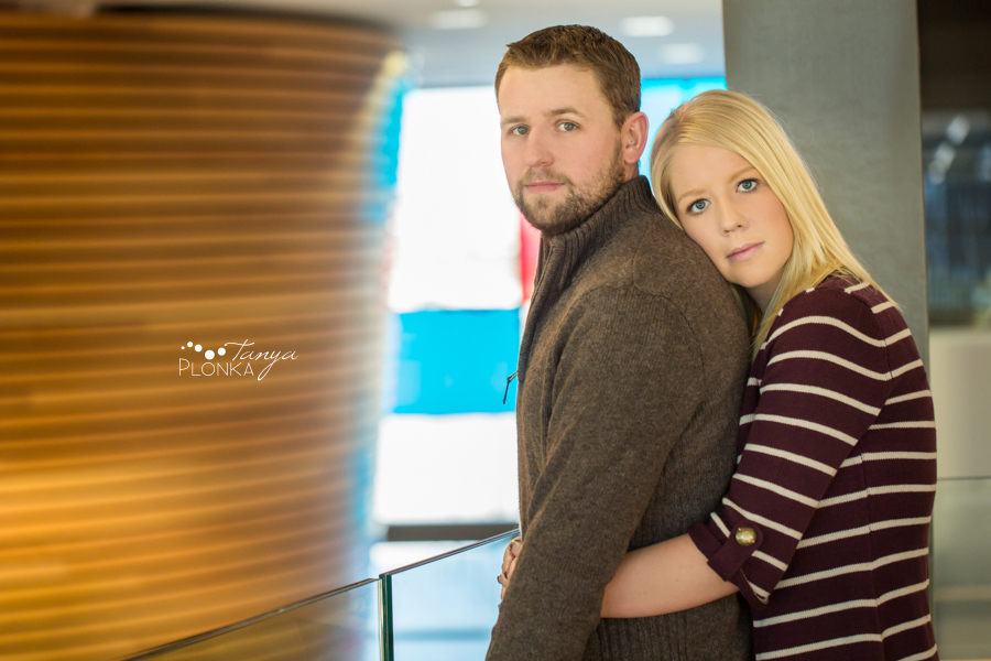 Lethbridge engagement photos in winter