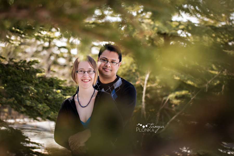 Lethbridge winter engagement photos