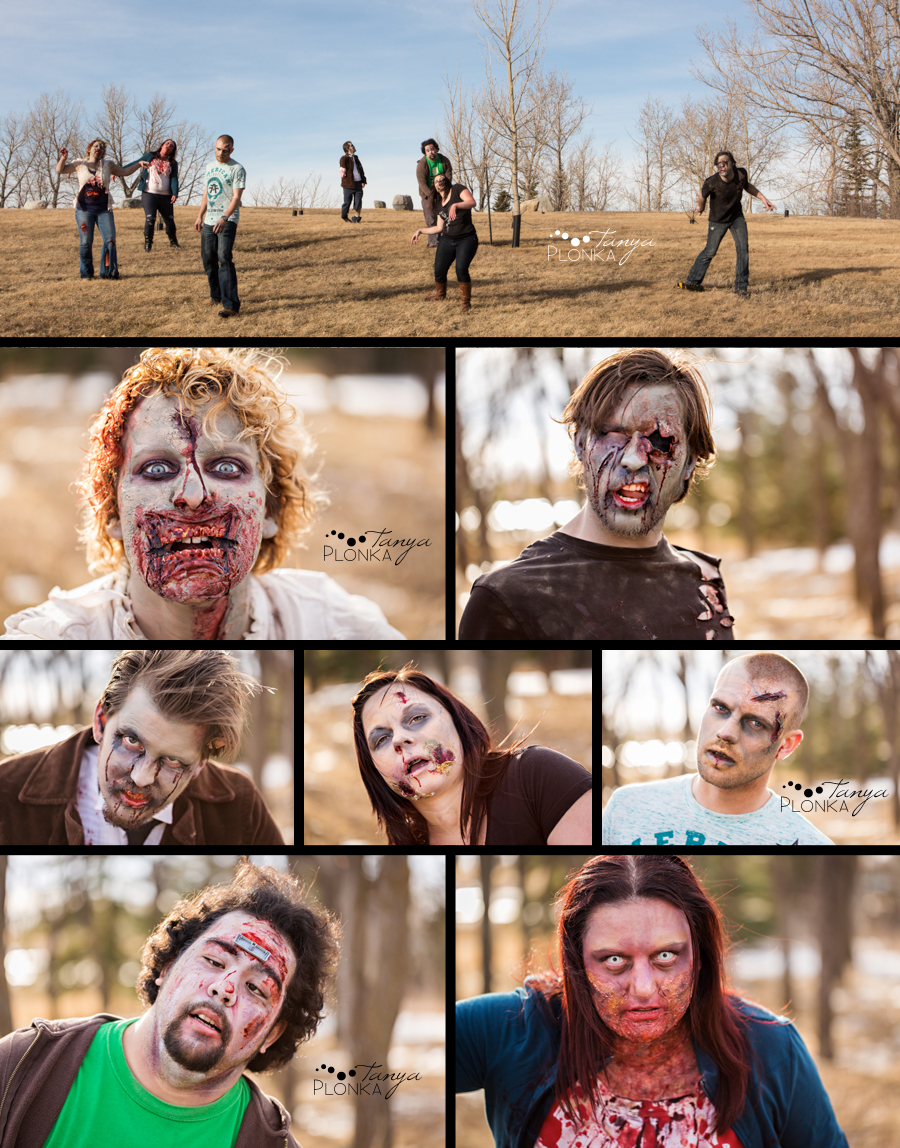Lethbridge zombie photo portraits