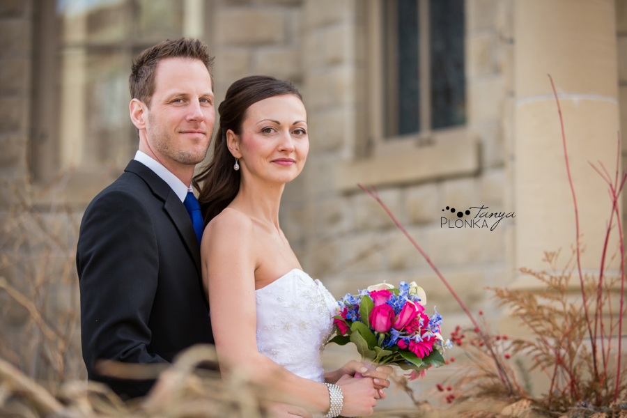 Eric & Edina, Calgary Lougheed House winter wedding