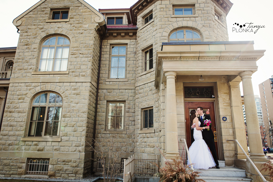Eric & Edina, Calgary Lougheed House wedding