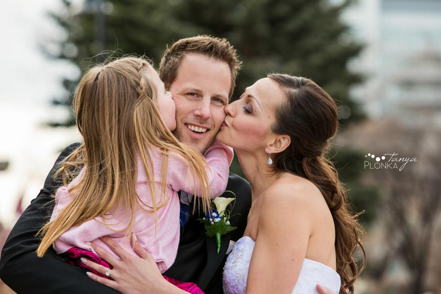 Eric & Edina, downtown Calgary wedding