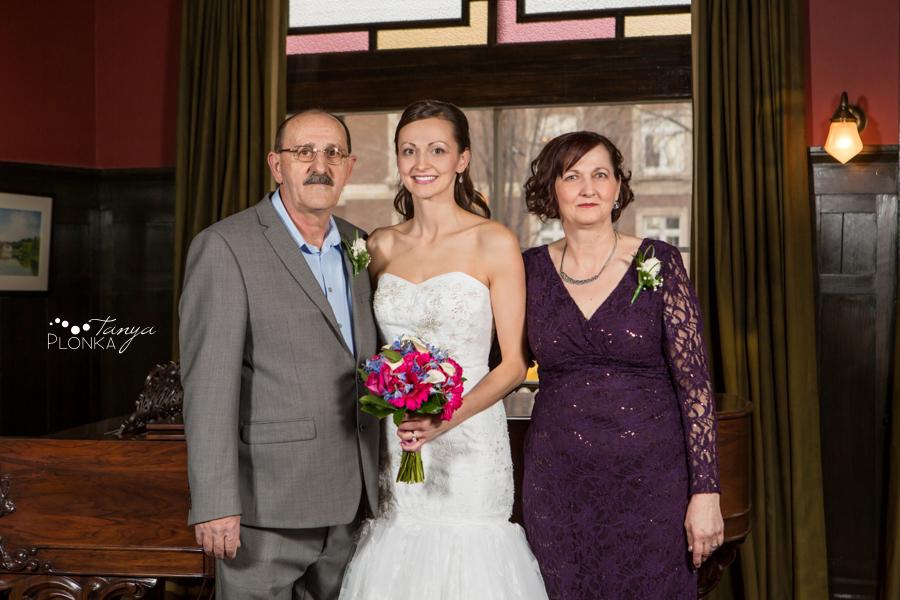 Eric & Edina, Calgary winter wedding