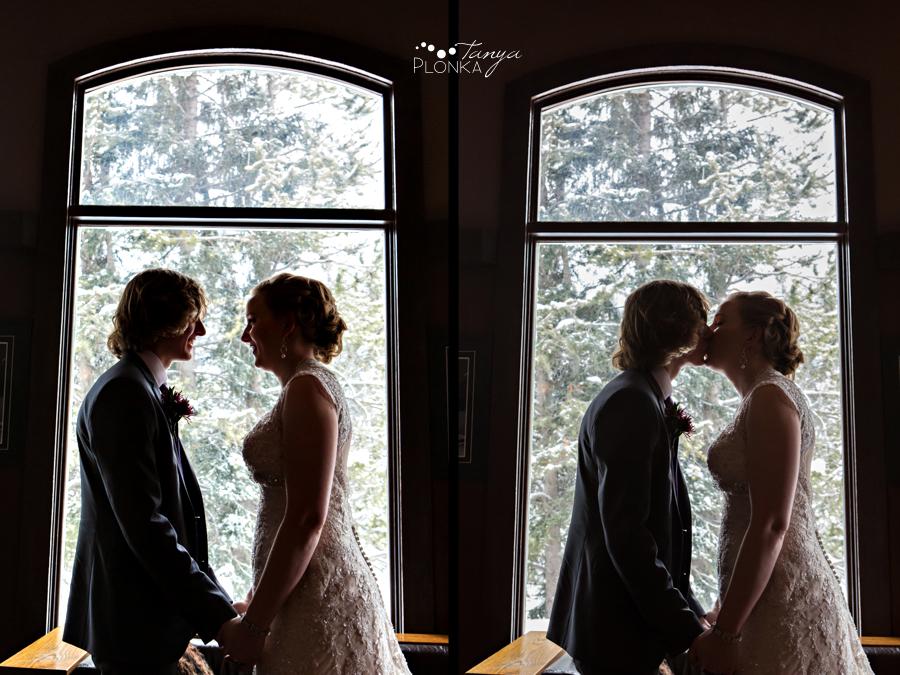 Alex and Erika, Lake Louise winter wedding