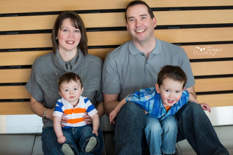 Lethbridge indoor winter family photos