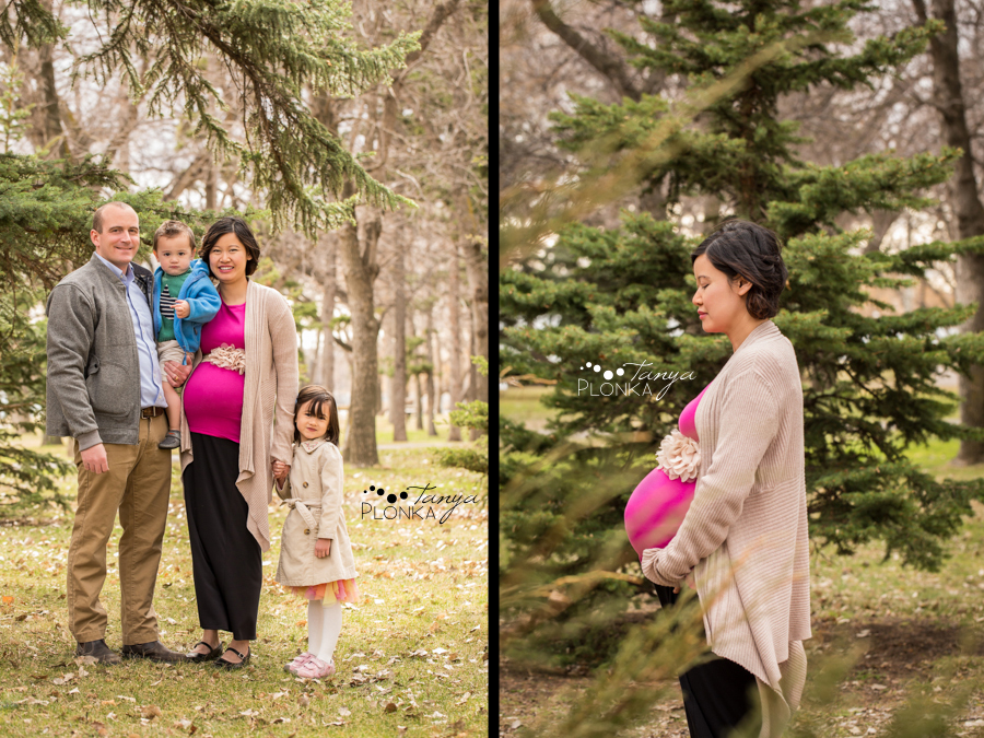 Lethbridge early spring maternity photography