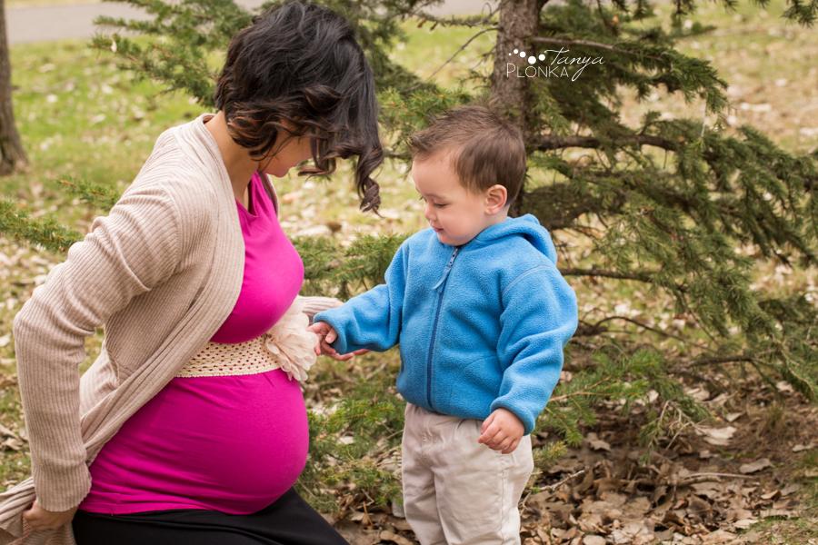Lethbridge spring maternity photos