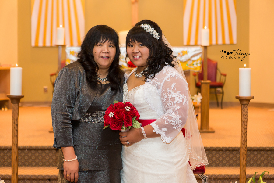 Michelle & Oscar, snowy Crowsnest Pass April wedding