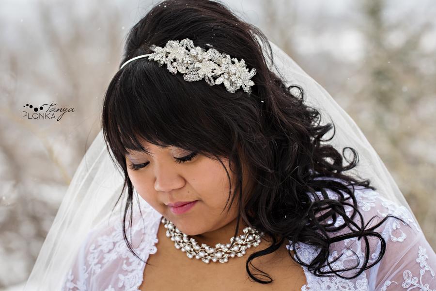Michelle & Oscar, snowy Crowsnest Pass spring wedding