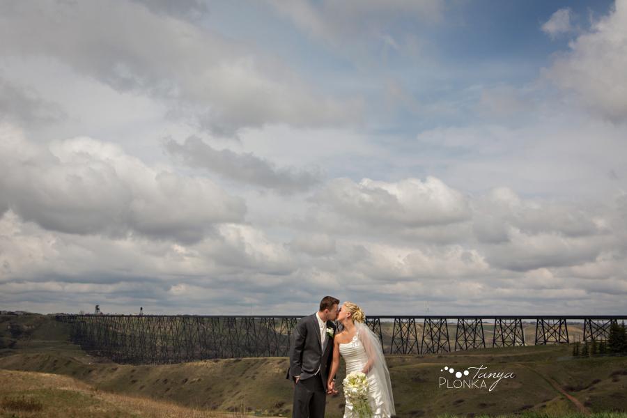 Amelia & Abram, Lethbridge springtime wedding, fun Lethbridge weddings and portrait photography