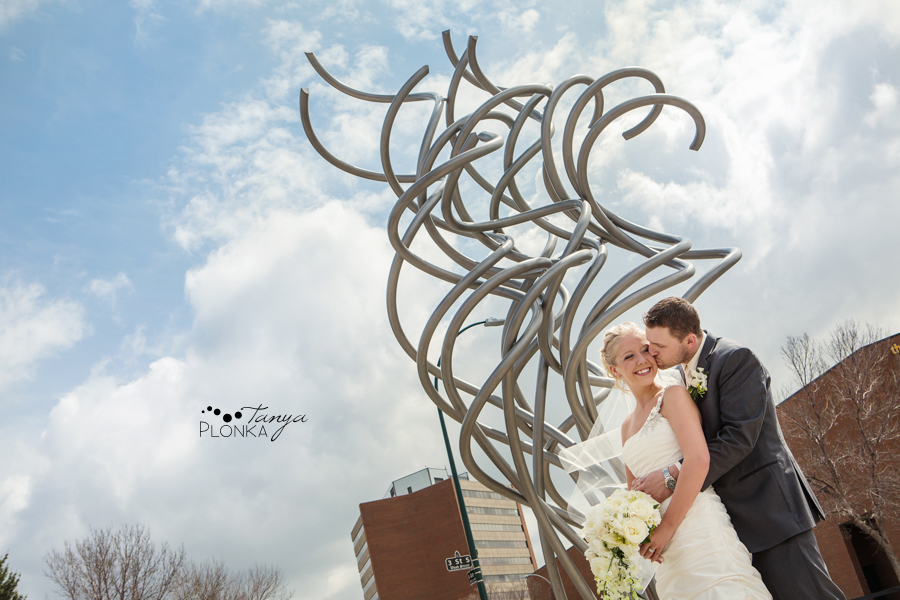 Amelia & Abram, Lethbridge spring wedding