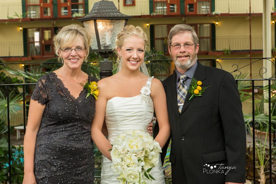 Amelia & Abram, Lethbridge spring wedding