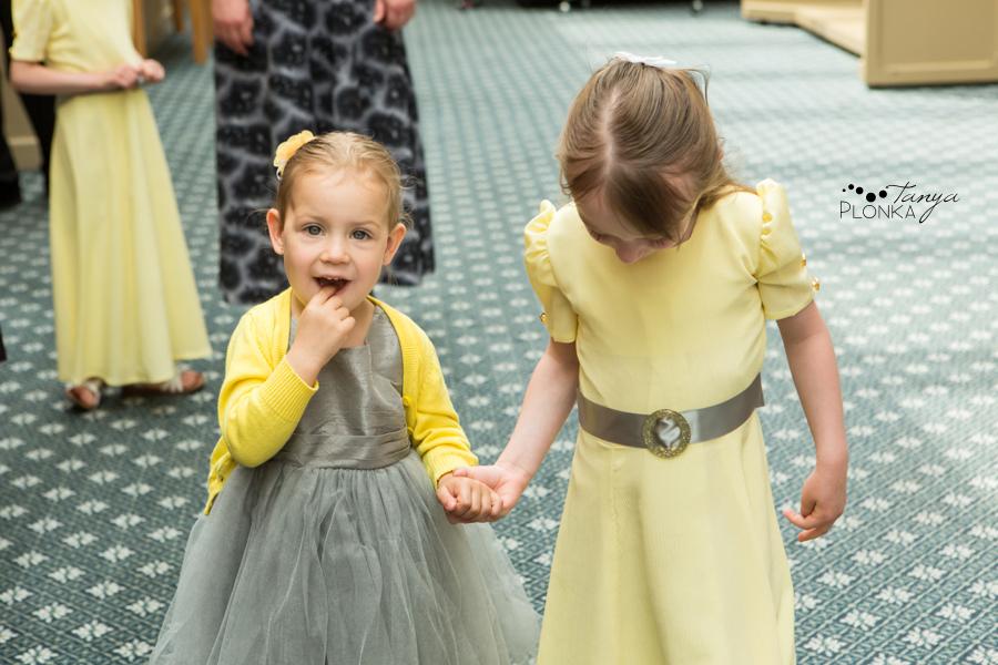 Amelia & Abram, Lethbridge springtime wedding