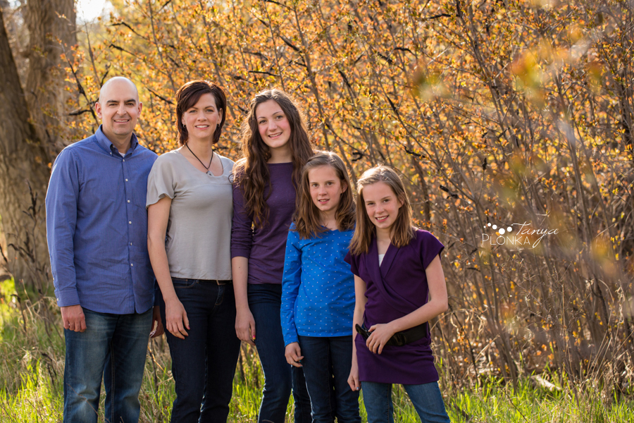 Spring coulee family photos