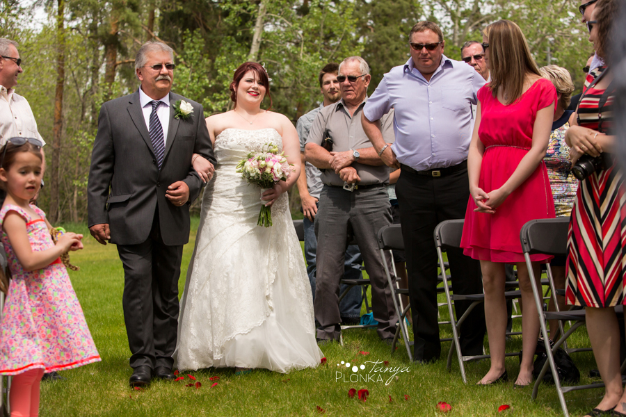 Shannon & Andrew, Brooks spring wedding