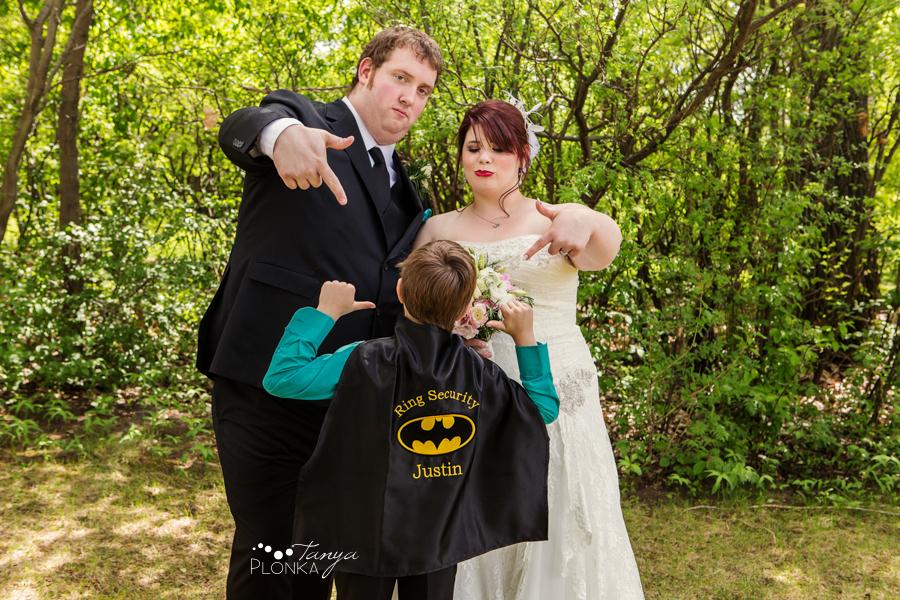 superhero ring bearer
