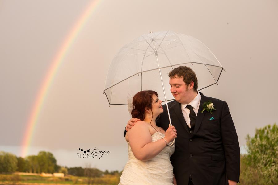 Shannon & Andrew, Brooks springtime wedding rainbow