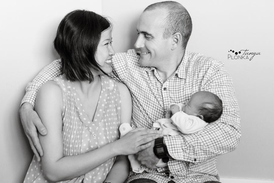 Lethbridge newborn girl photos