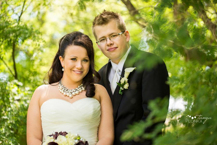 Nicholas & Robin, Taber spring wedding