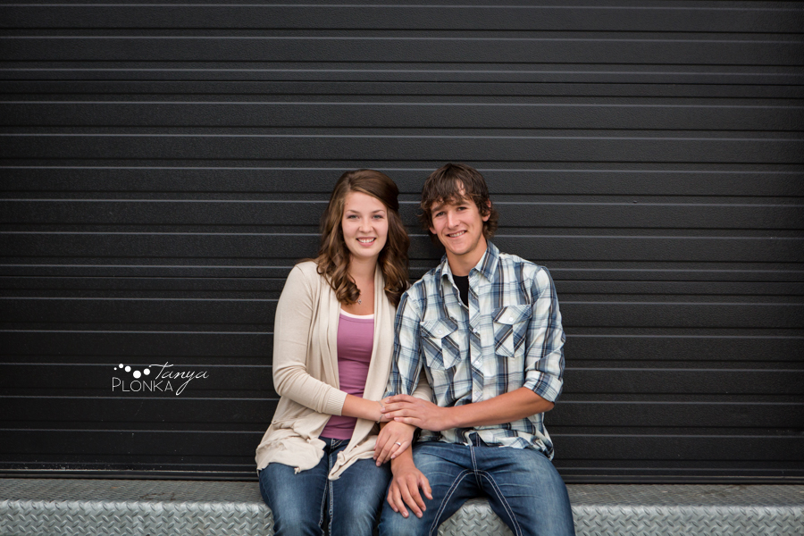 Galt Museum Spring Engagement Session