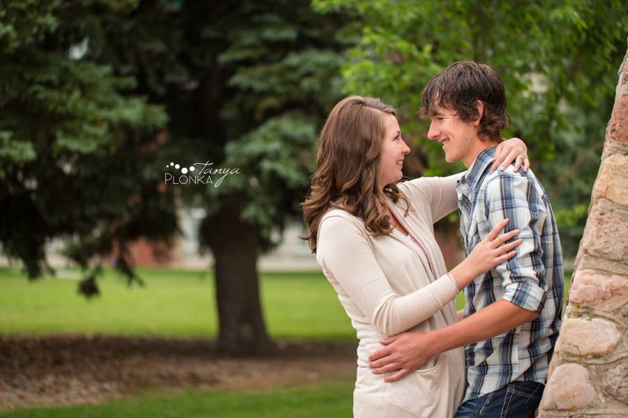 Lethbridge Spring Engagement Session