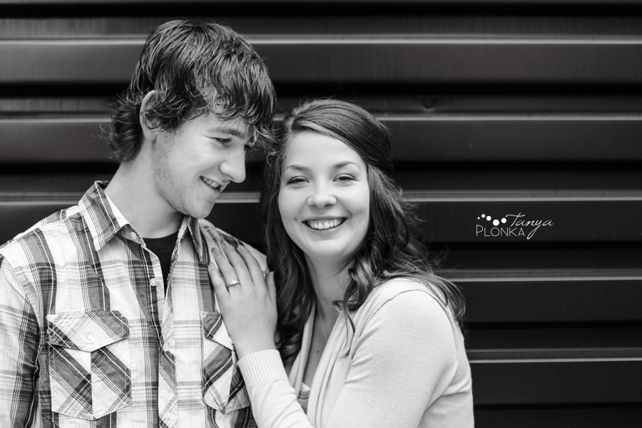 Galt Museum Spring Engagement Photos
