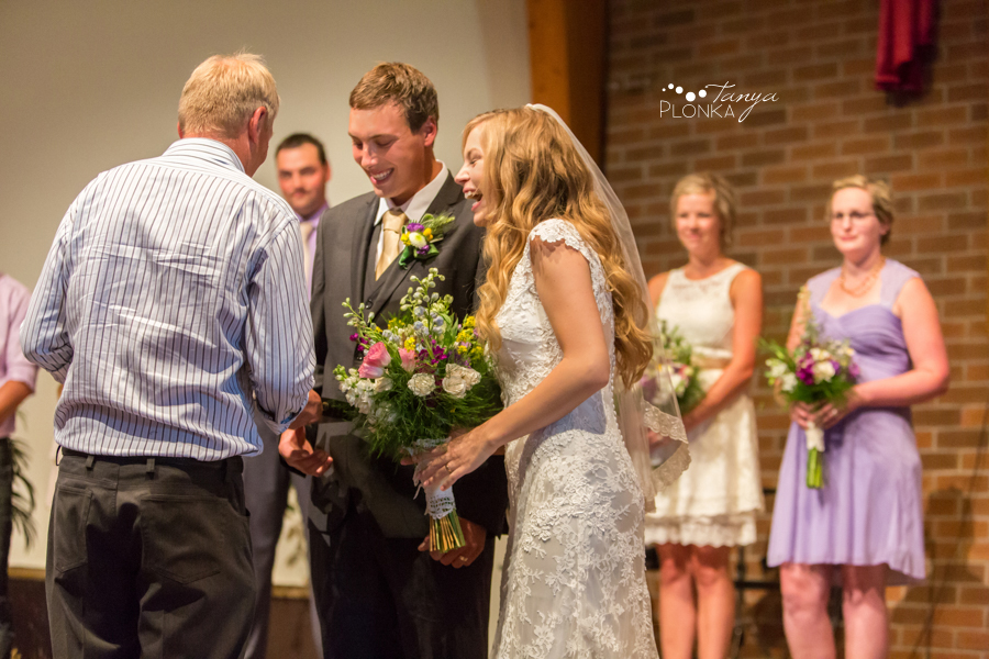 Jordan & Alyson, Lethbridge rural wedding