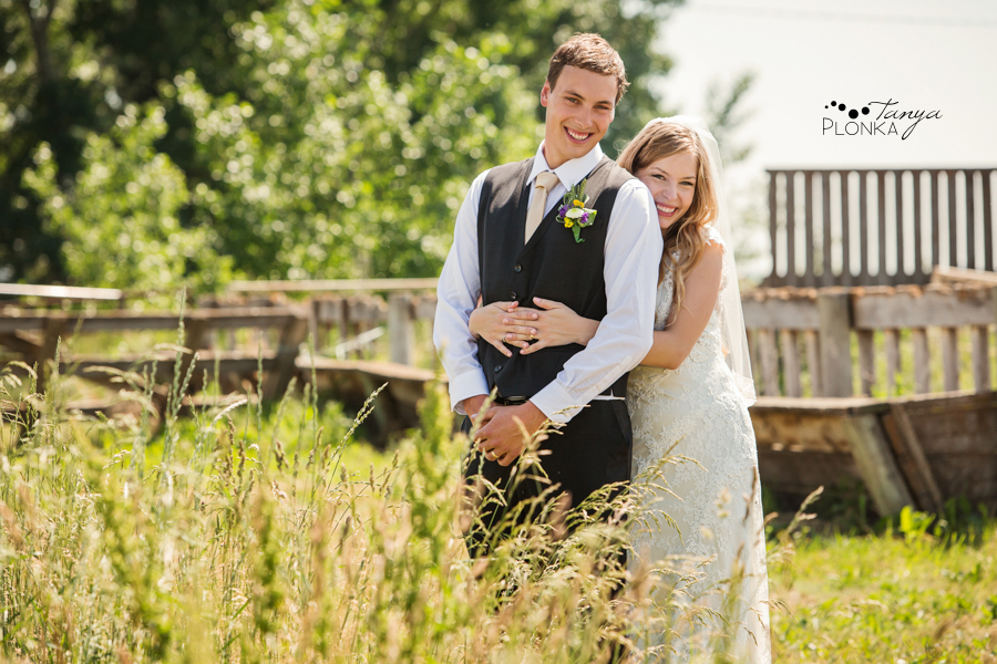 Jordan & Alyson, Lethbridge rural summer wedding