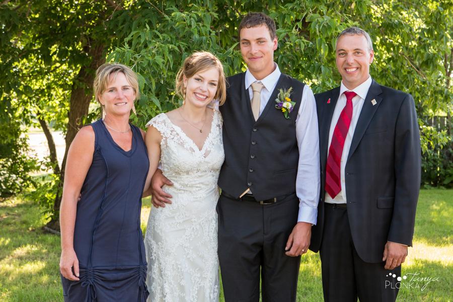 Jordan & Alyson, Lethbridge rural summer wedding